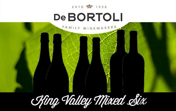 *DE BORTOLI KING VALLEY MIXED 6 - CASE OF 6