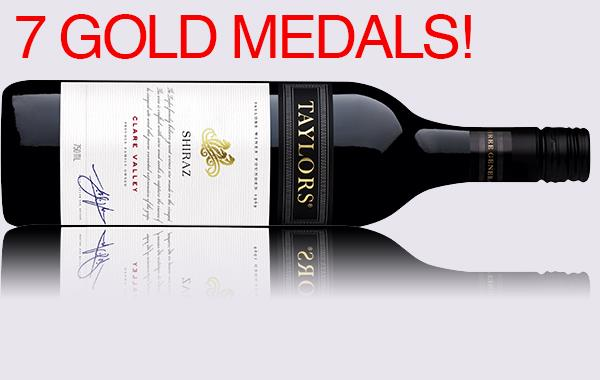 * TAYLORS ESTATE SHIRAZ 2015 - CASE OF 6