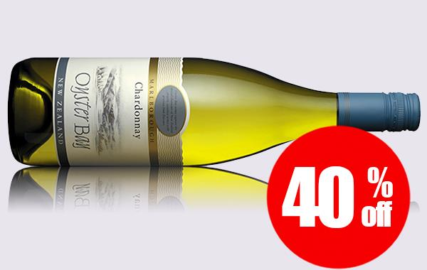 OYSTER BAY CHARDONNAY - CASE OF 6